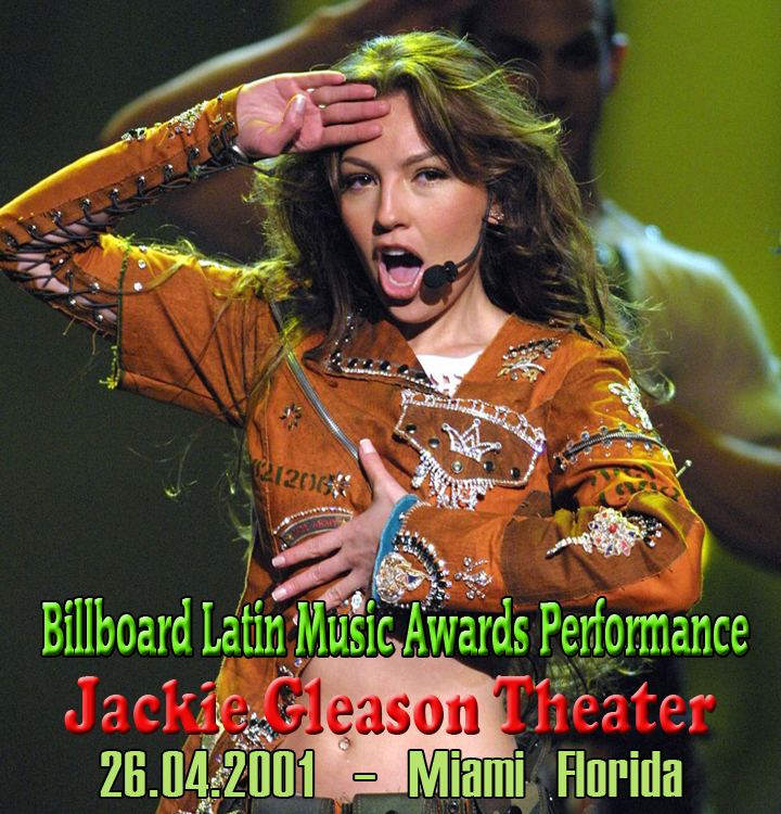 Billboard Latin Music Awards Performance 2001