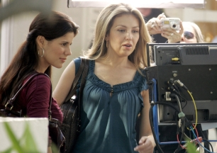 Thalia on the Set of the Hershey's Kisses 100th Anniversary Commercial (9)
